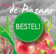 Bestel NU het Bazaar Kookboek